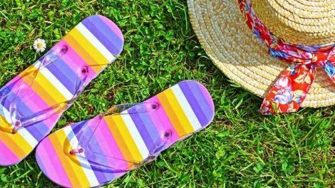 La utilización de sandalias en verano no es muy recomendable