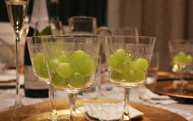 Uvas en fin de año