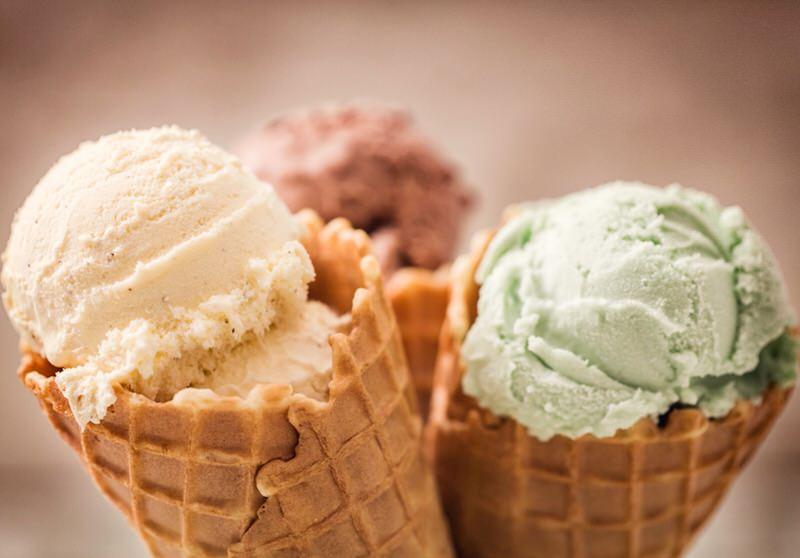 Información nutricional del helado