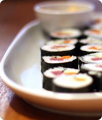 valores nutricionales sushi