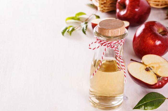Vinagre de manzana para picaduras de mosquito
