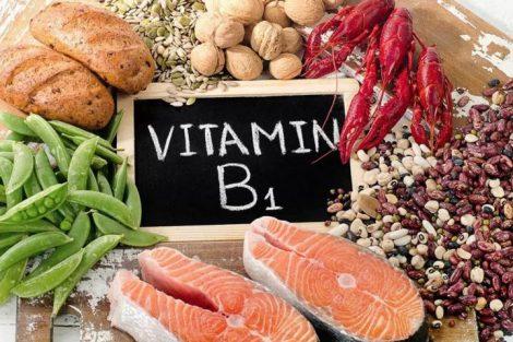 Vitamina B1 o tiamina: beneficios y alimentos que la contienen