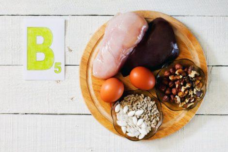 Vitamina B5 o ácido pantoténico: funciones, beneficios y fuentes