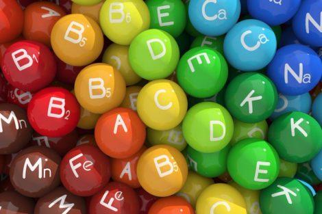 Qué son las vitaminas y funciones principales de cada una
