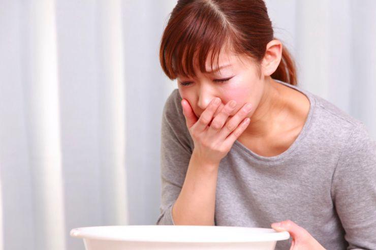 El vómito es un síntoma de embarazo