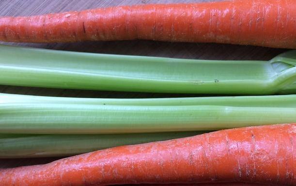Apio y zanahoria