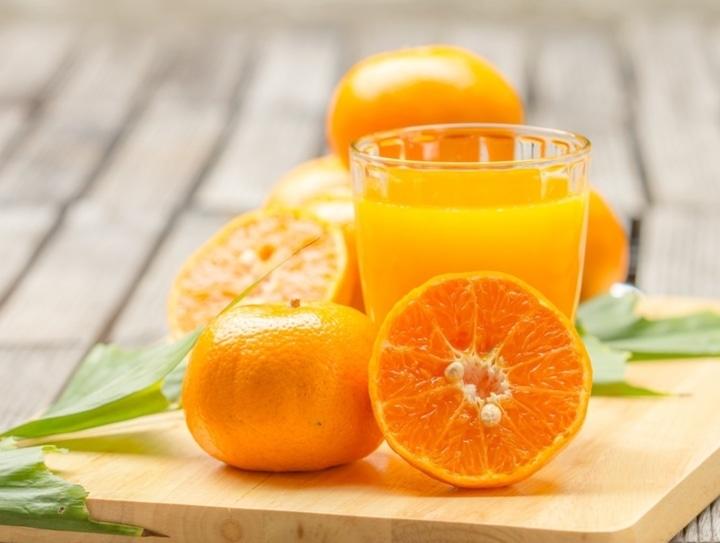 La naranja entera es mejor que el zumo