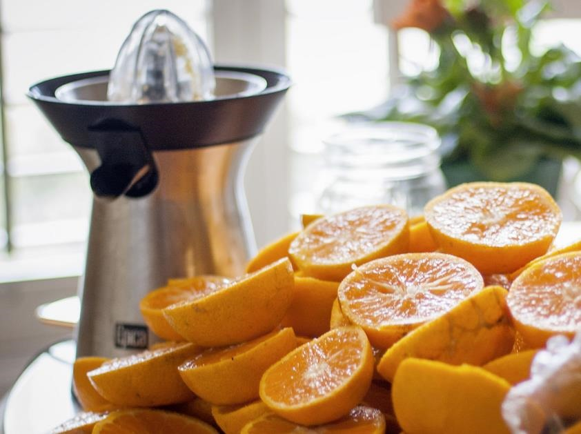 Zumo de naranja y vitamina C