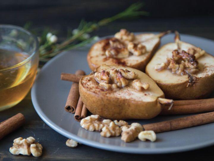 Zumo de pera y miel para los colicos
