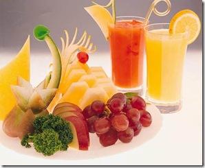 Zumos de frutas naturales y envasados
